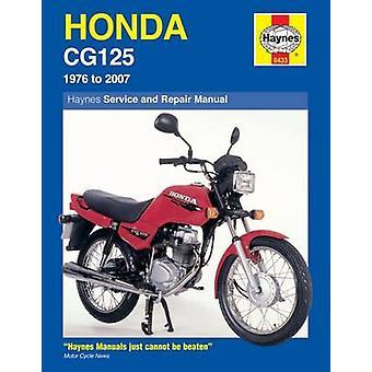 Honda CG125 Service and Repair Manual - 1976 to 2007 (11th Revised edi