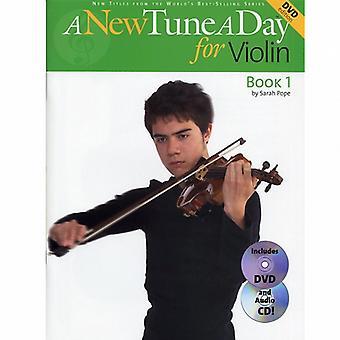 A New Tune A Day Violin 1 Book, CD & DVD