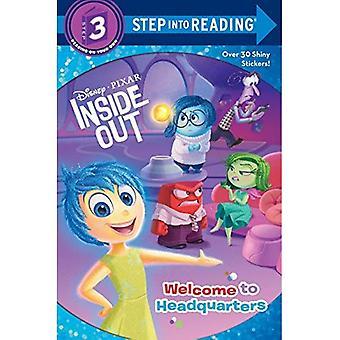 Bienvenue à l'administration centrale (Disney/Pixar Inside Out) (étape dans la lecture - niveau 3 - qualité)