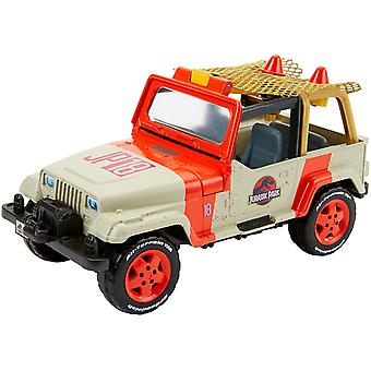 Mecz FNP46 pole Jurassic World Jeep Wrangler i netto traper