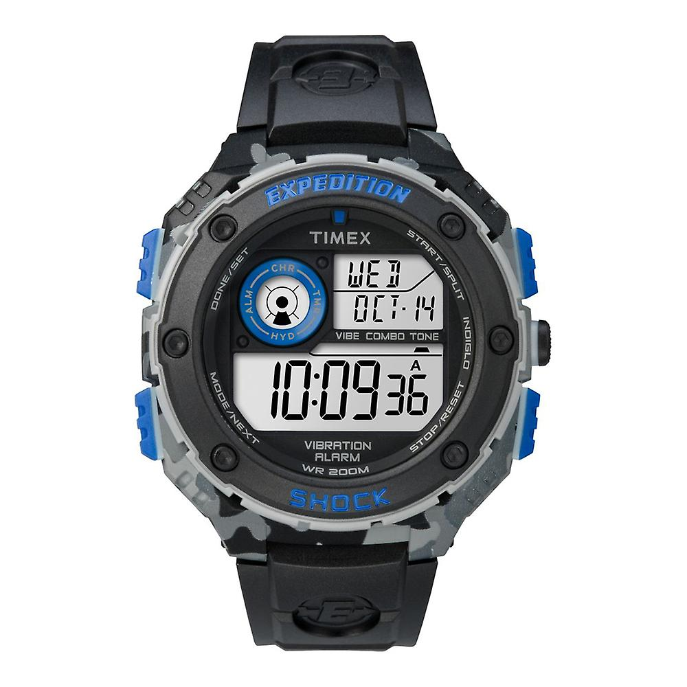 Timex Expedition Vibe Shock Camo TW4B00300 Men's Watch Chronograph