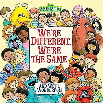 We verschillend, We zijn het dezelfde (Sesamstraat)
