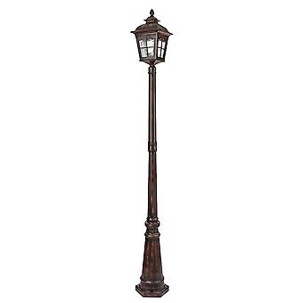 Pompeji-braun Outdoor-Post-Lampe - Searchlight 1574BR
