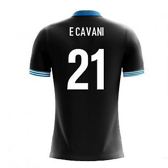 2020-2021 Uruguay Airo Concept Away Shirt (E Cavani 21) - Kids