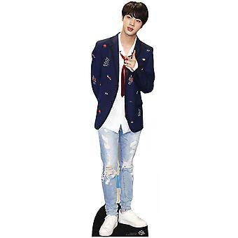 Jin from BTS Bangtan Boys Mini Cardboard Cutout / Standee / Standup