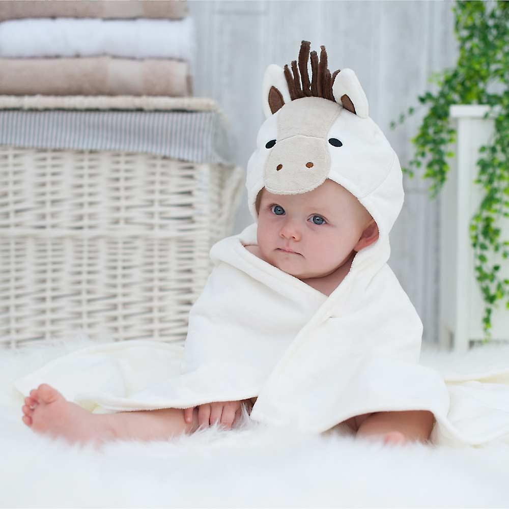 Popcorn Pony baby towel gift set