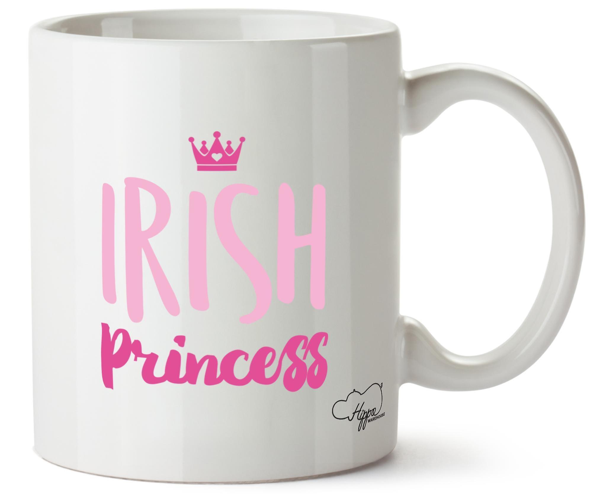 Hippowarehouse ирландский принцесса 10oz кружка Кубок