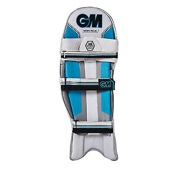 Gunn & Moore 2018 Neon Plus Cricket Batting Pads Leg Guards weiss/blau
