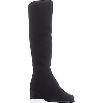 Stuart Weitzman Womens Villepentagon Leather Almond Toe Knee High Fashion Boots