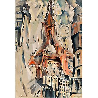 Eiffel-torni, Robert Delaunay, 60x40cm