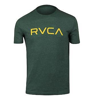 RVCA Mens Big RVCA Mens Vintage Dye T-Shirt - Sequoia Green