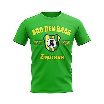 АДО Ден Хааг создан футбольный футболку (зеленый)