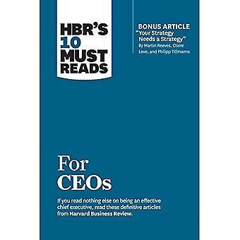 HBR 10 must lectures pour les PDG (avec l'article bonus «votre stratégie a besoin d'une stratégie» par Martin Reeves, claire Love, et Philipp TILLMANNS)