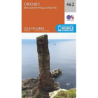 Orkney - Hoy - South Walls and Flotta (September 2015 ed) by Ordnance