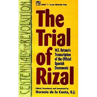 Trial of Rizal by Horacio de la Costa - 9789715502085 Book