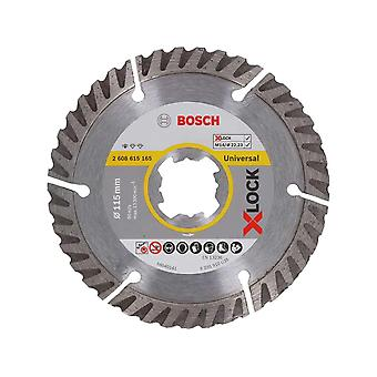 Bosch Diamond Disc XLOCK STD Universal 115mm x 22, 23mm blad