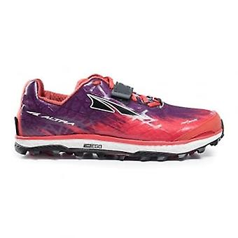 Altra King Mt 1.5 Womens Zero Drop Off-road Running Shoes Orange/purple