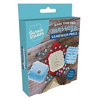 Fizz Creations Make Your Own Message Sandwich Press