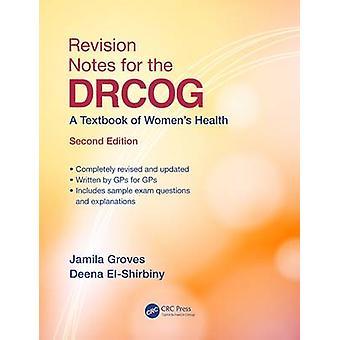 Note di revisione per il DRCOG di Jamila Groves