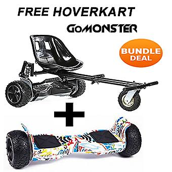 FREE Suspension Hoverkart with Graffiti 8.5