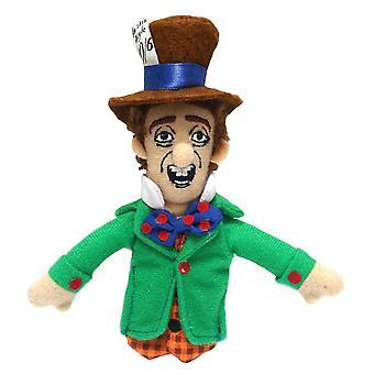 Finger puppet-UPG-Mad Hatter zachte pop speelgoed geschenken gelicentieerd nieuwe 2189