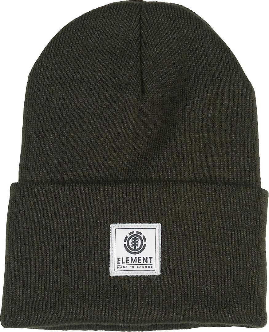 Element Knitted Cuff Beanie ~ Dusk II olive