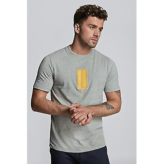 Hymn Emroidered Ice Lolly Tee Grey