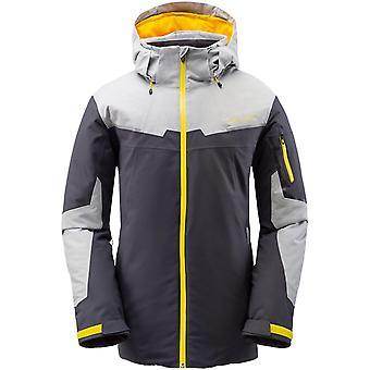 Spyder CHAMBERS Herren Gore-Tex Primaloft Ski Jacke grau