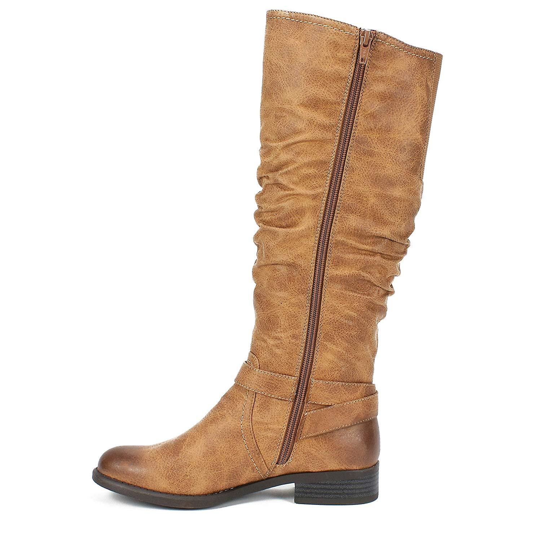 White Mountain Womens Layton Closed Toe Mid-Calf Fashion Boots