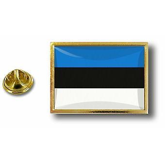 باين بينس شارة دبوس أبوس؛ معدن مع فراشة فرشاة إستونيا