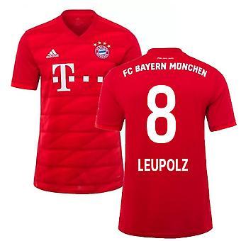 2019-2020 Bayern München Adidas Home Fußball Trikot (Leupolz 8)