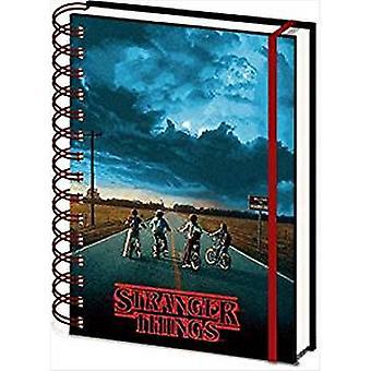Stranger Things 3D Spiral Notebook