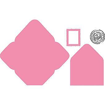 Marianne Design Elines envelop verzamelobjecten snijden sterven en duidelijk Stamp ingesteld,