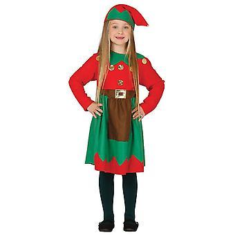 Ragazze Sfacciato Elfo Natale Abito Abito