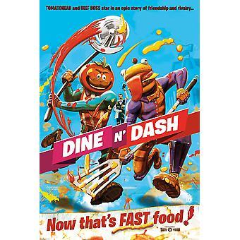 Fortnite Dine N Dash Maxi Poster 61x91.5cm