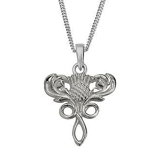 Scottish Thistle Flower of Scotland halsband hänge-innehåller en 16