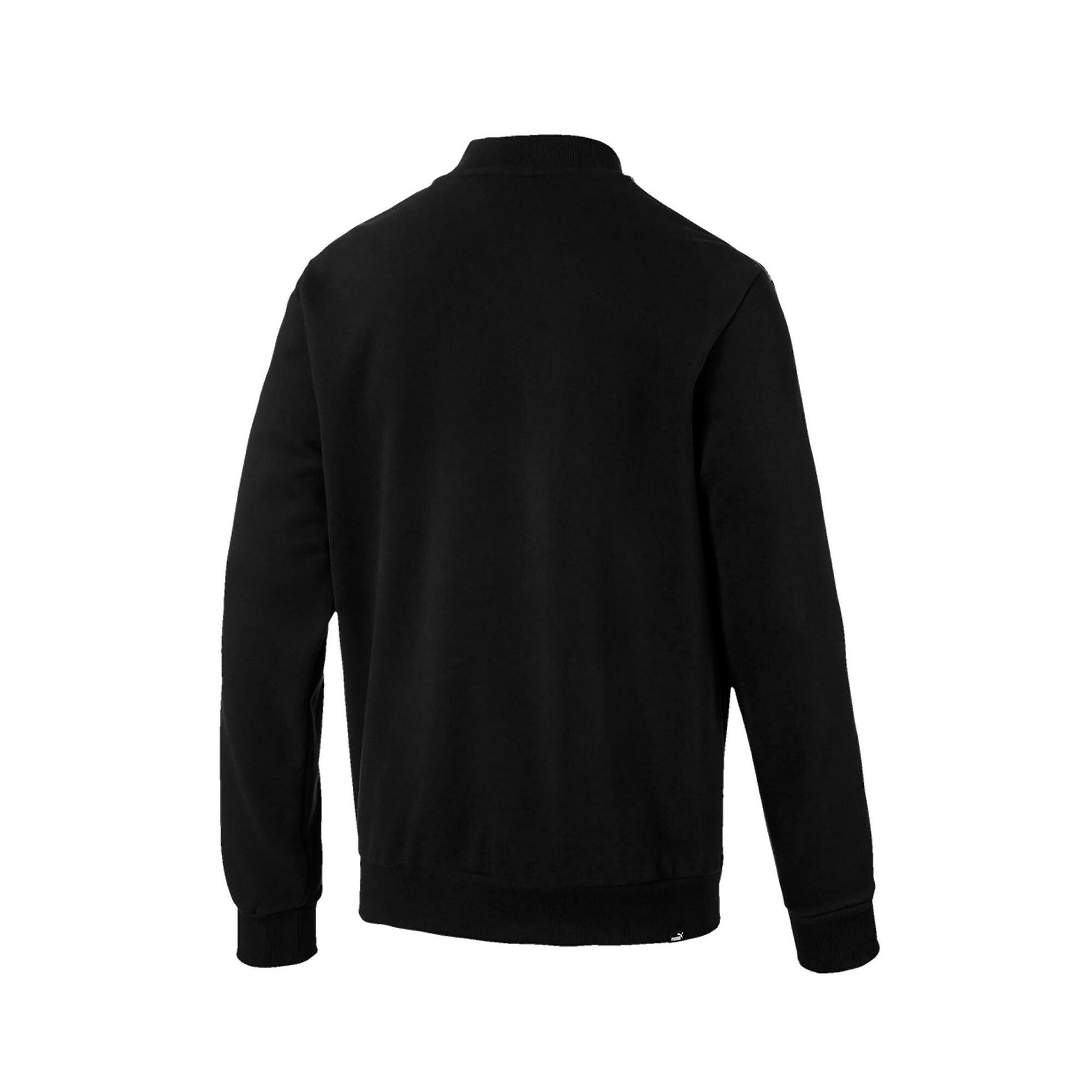 Puma Holiday Pack Mens Full Zip Fashion Casual Bomber Jacket Black
