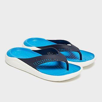 Nouveau Crocs Women-apos;s LiteRide™ Flip Flops Navy