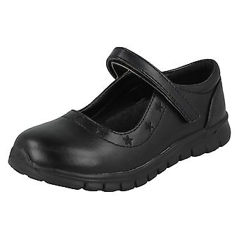 Girls Spot On School Shoes H2559