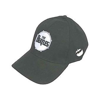 The Beatles classic Drum band Logo new Official black strapback Baseball Cap