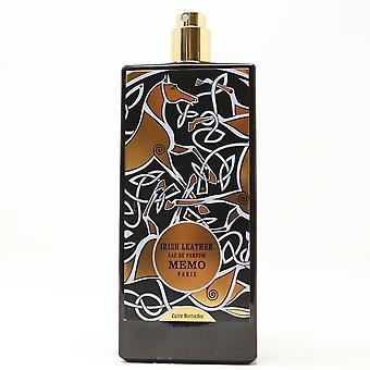 Memo Paris Irish Leather Eau De Parfum Spray 2.5oz/75ml New,as shown