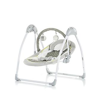 Chipolino Baby Rocker Aria, Electric Grey Remote Control, Timer, Music Game Bow