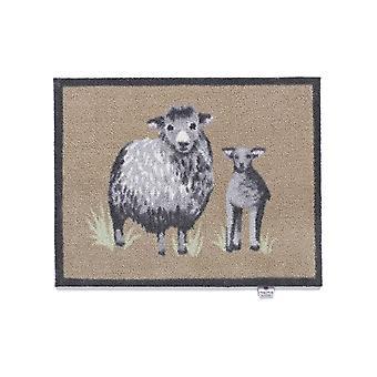 Abrazo de tapetes de alfombra país ovejas 1