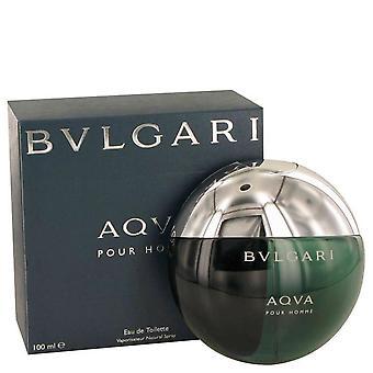 Aqua pour homme eau de toilette spray by bvlgari 416381 100 ml