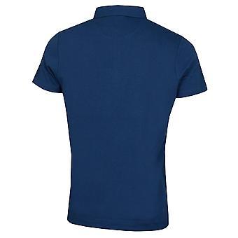 Wolsey Mens Houndstooth Trapeeze Lightweight Golf Polo Shirt