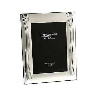 Impressions By Juliana Shiny Wavy Design 5 X 7 Photo Frame