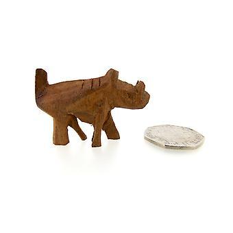 خشبية نحت الثاذب التماثيل اليدوية – 4.5 سم