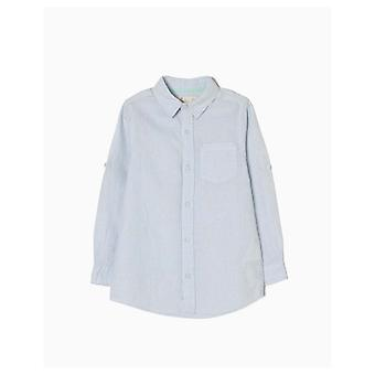 Zippy Leinen Shirt blue Stripes