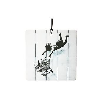 Banksy Shop Till You Drop Car Air Freshener
