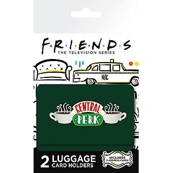 Friends Central Perk Luggage Card Holder